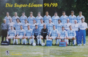 1994-95 Poster A3
